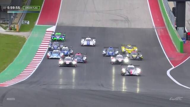 FIA WEC: 6 Hours of COTA - Start wyścigu
