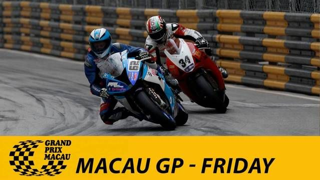 Live: Macau Grand Prix - Friday