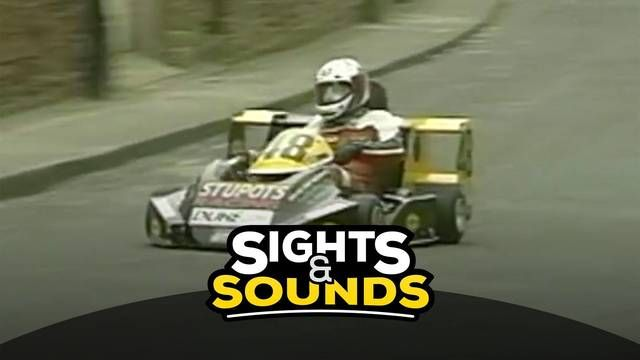 Sights & Sounds: Peel Kart Grand Prix On board 1991