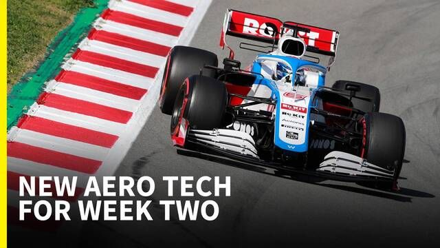 Upgraded tech for week two - F1 2020 Test 2 | Tech Analysis