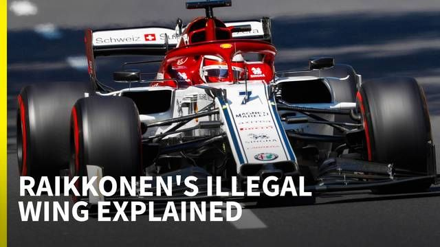 The confusing story behind Raikkonen's illegal wing