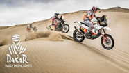 Dakar Rally: Day 8 highlights - Bikes & Quads