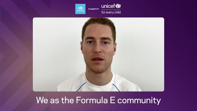 Formula E: UNICEF Announcement