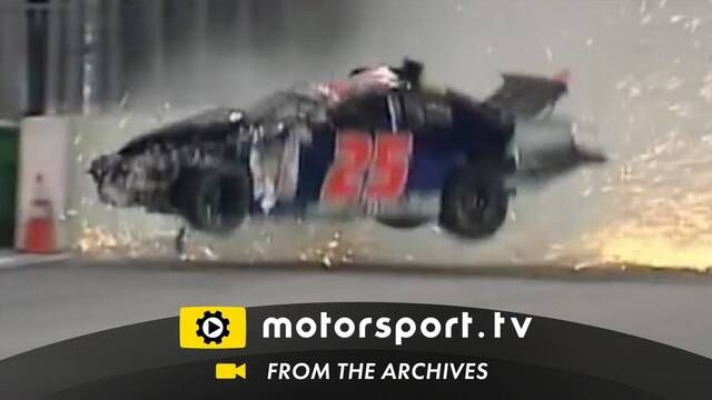 ARCA 2007: Ryan Fischer crash