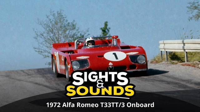 Alfa Romeo T33TT/3 1972 - Onboard | Sights & Sounds