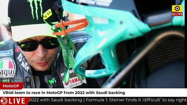 Team VR46 in MotoGP from 2022