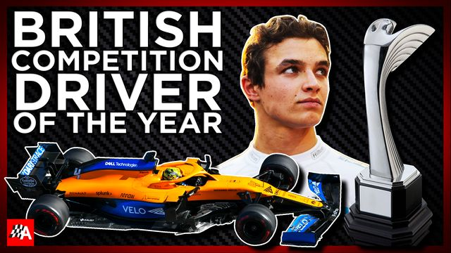 British Competition Driver Of The Year - Autosport Awards 2020