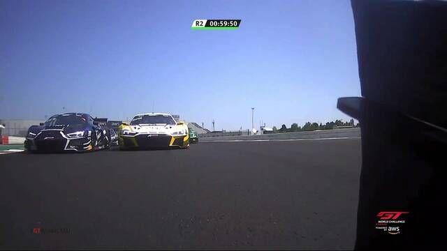 GT World Challenge Europe: Misano - Race 2 start