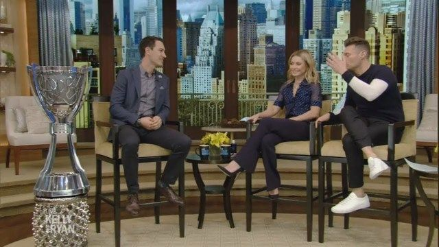 NASCAR Cup champion Joey Logano on Live with Kelly and Ryan