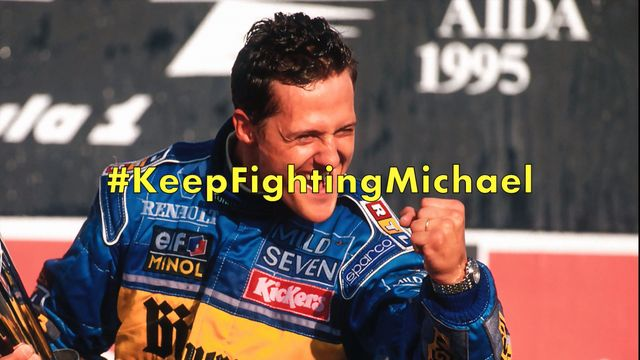 Felices 50 Michael Schumacher