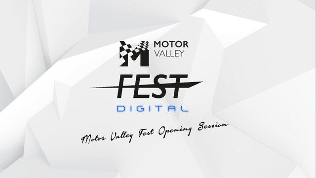 Motor Valley Fest Digital 2020 - Opening Session