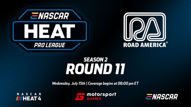 Live: eNASCAR Heat - Pro League - Round 11