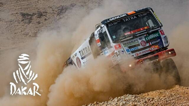 Dakar 2021: Etappe 5 Highlights - Trucks