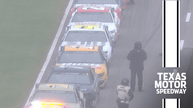 Cup Series race red-flagged at Texas due to rain - NASCAR Cup Videos