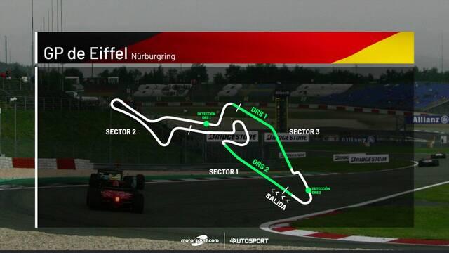 Por qué la carrera de F1 en el Nurburgring se llama GP de Eifel?