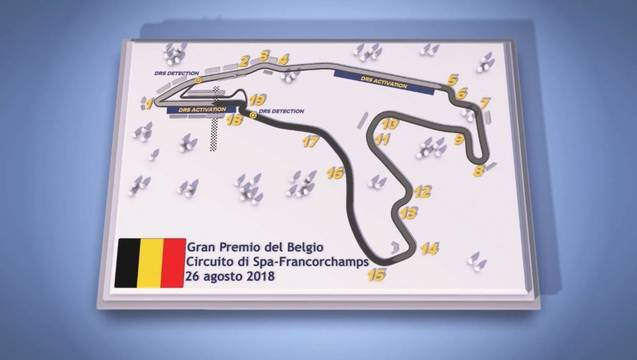 Circuito Spa : Guida circuiti 2018 gp del belgio formula 1 video