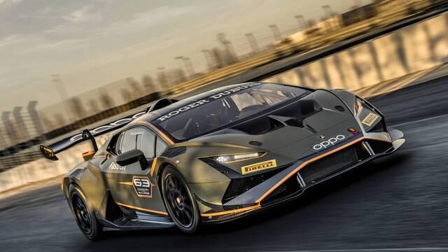 Lamborghini reveals 2022 Huracan Super Trofeo EVO2
