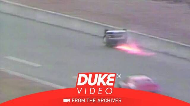 1981 Daytona 500: Connie Saylor flips onto his roof