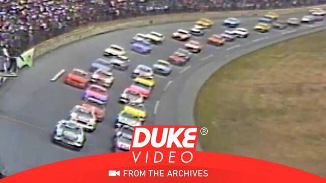 1981 Daytona 500: Race start action