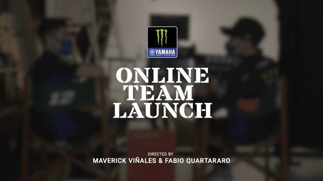 Teampresentatie Monster Energy Yamaha MotoGP-team