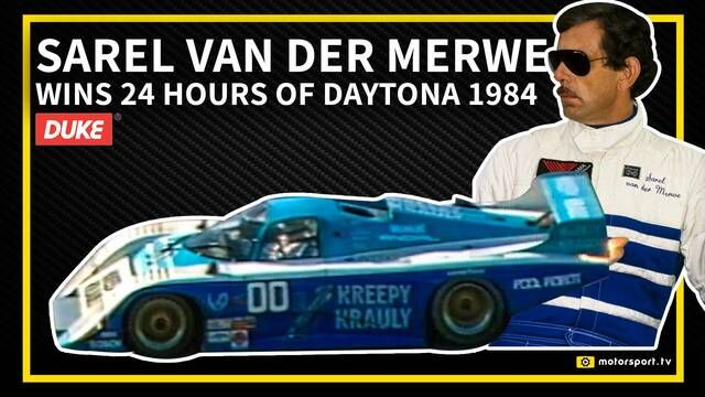 24 Hours of Daytona: 1984 - Sarel van der Merwe vs Mario Andretti