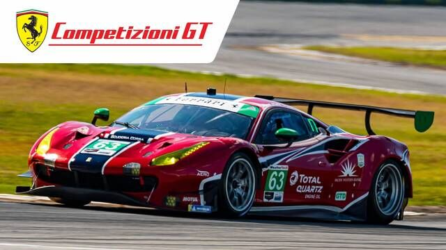 24 Hours of Daytona: Fourth Place for Ferrari