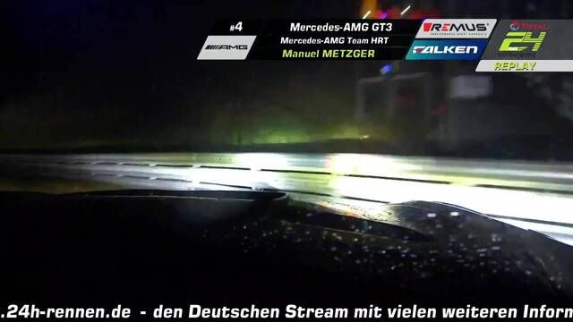 24h Nurburgring - Manuel Metzger gets caught out