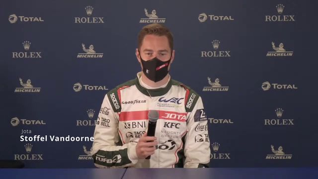 6 Hours of Spa - Stoffel Vandoorne - Pre Event Press Conference