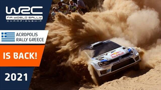 Acropolis Rally Greece Teaser