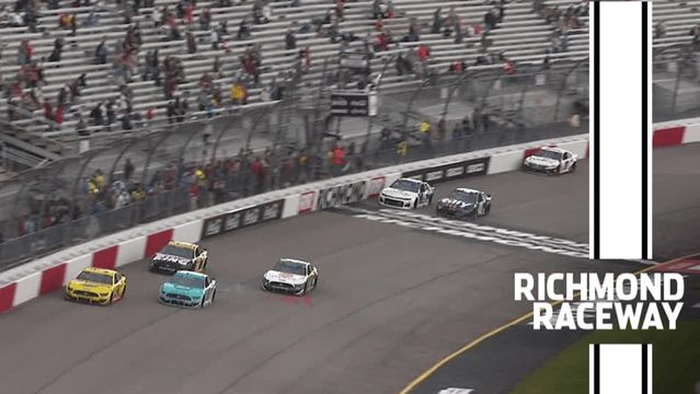 Alex Bowman bests Denny Hamlin at Richmond Raceway