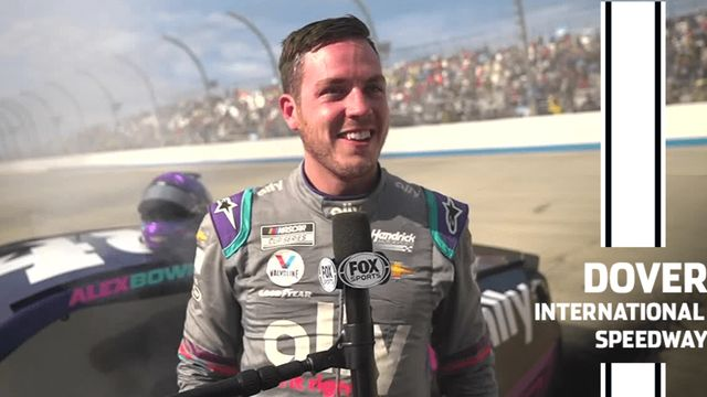 Bowman after Dover win: 'Help me Tom Cruise, I'm on fire'