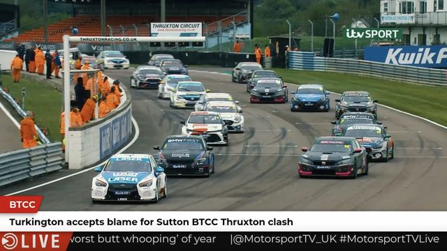 BTCC: Turkington accepts blame for Sutton