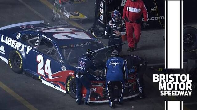 Byron out at Bristol, fails to advance to Round of 12