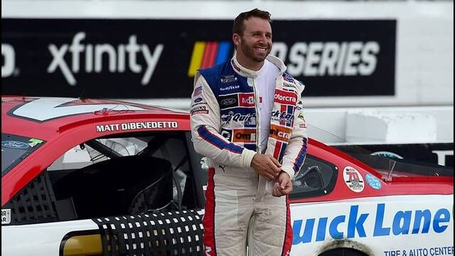 Can DiBenedetto deliver the Wood Brothers win No. 100?