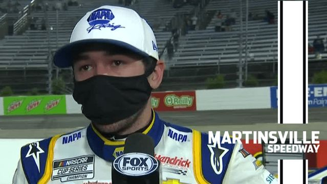 Chase Elliott: 'We worked really hard' for second place