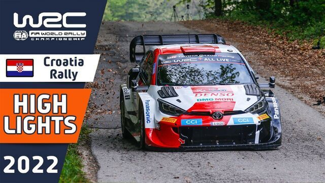 Rallye Croatie : les temps forts de la Power Stage