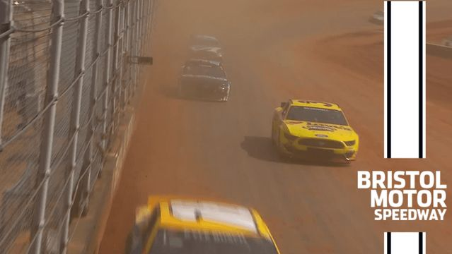 Cup Series cars hit Bristol dirt for the first time