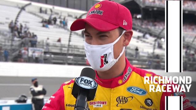 'Dang it': Logano comes up short at Richmond Raceway