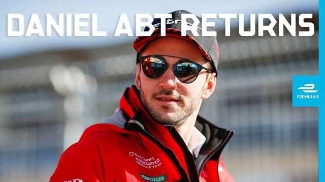 Daniel Abt returns to Formula E