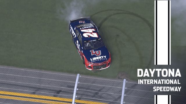 Daytona chaos turns to Byron bringing it home