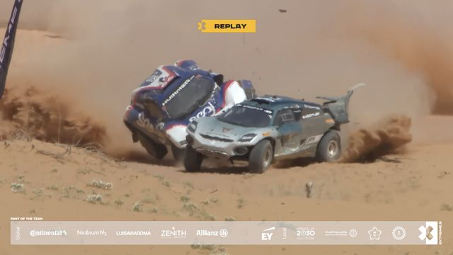 Desert X-Prix: Shoot Out Crash