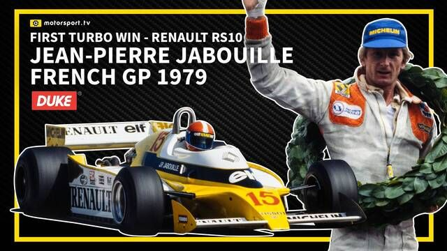 Dijon 1979: Jean-Pierre Jabouille's first win