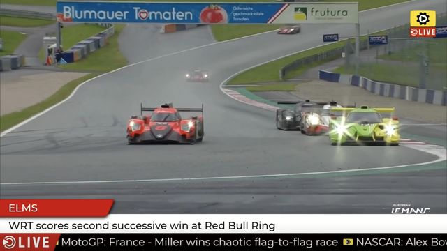 ELMS: WRT wins at the Red Bull Ring
