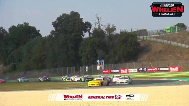 EuroNASCAR: Vallelunga Elite 1 Race 1 - Start