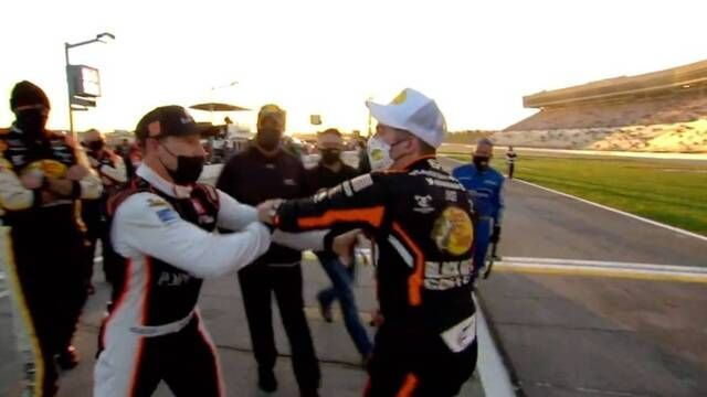 Exclusive angle of altercation between Gragson, Hemric