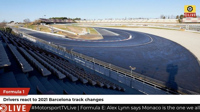 F1: 2021 Barcelona track alterations