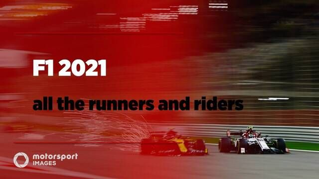 F1 2021's runners and riders