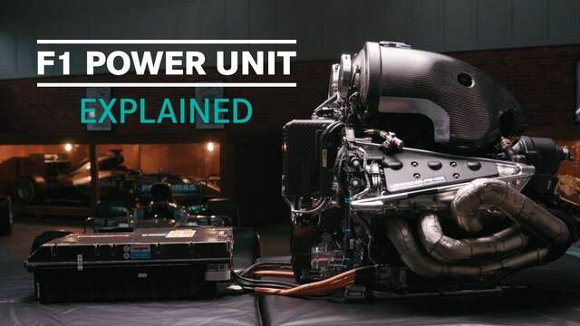 F1 Explained | Mercedes Power Unit