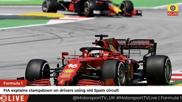 F1: FIA explains clampdown on F1 drivers using old Spain circuit