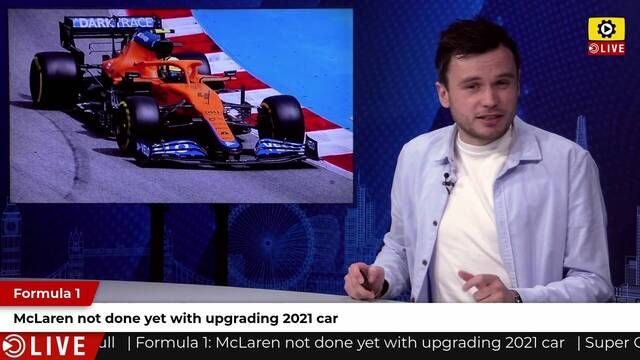 F1: McLaren not done with 2021 car yet